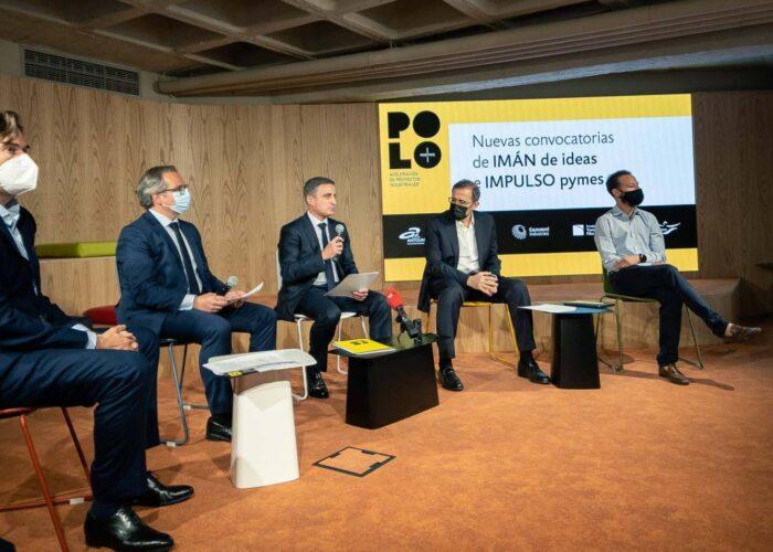 Presentación de dos convocatorias de la segunda edición de Polo Positivo